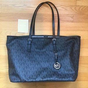 MK Michael Kors black handbag